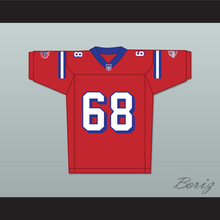 Ace Yonamine Jumbo Fumiko 68 Washington Sentinels Home Football Jersey The Replacements Includes League Patch 2(China)
