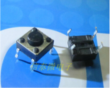 100pcs 6*6*5MM Tactile Push Button Switch 4 pins Micro Switch 4-Pin DIP Momentary Tact Switch 6X6X5mm Through-Hole