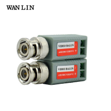WANLIN 10pcs(5Pairs) AHD/TVI/CVI CCTV Twisted BNC Passive Video Balun Transceiver COAX CAT5 Camera UTP Cable Coaxial Camera DVR(China)