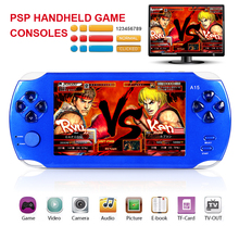 "5.0"" HD screen Portable Multimedia Player Digital Video Camera 8GB PSP Handheld game consoles MP3 MP4 player Video Games e-books"