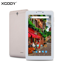 XGODY A708 7 Inch Tablet PC 3G Dual Sim MTK A7 Quad Core Android 5.1 1GB RAM 8GB ROM 3G Unlocked Phone Call Tablet FM OTG WiFi