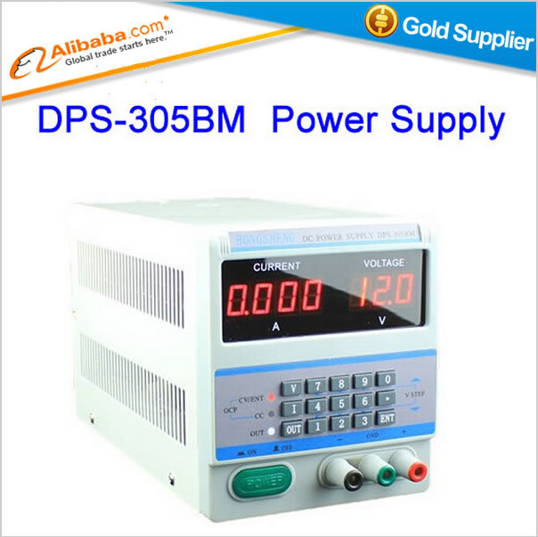 Free shipping power supply DPS-305BM 220V Digital Display 30V 5A DC Regulated Power Supply for Laptop Repair + 34 free Plugs<br><br>Aliexpress