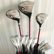 New womens Golf clubs s-03 Golf complete set of clubs driver+irons with graphite Golf shaft and cover wood clubs Free shipping