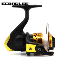 Econglee JL200 Sturdy Plastic Fishing Vessel Fishing Reel Spinning Flywheel Wholesale FD0094(China)