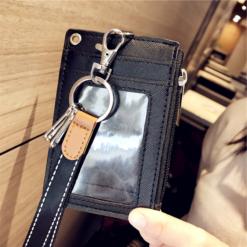 Coin Purses & Holders Luggage & Bags Smart Shiny Women Card Holder Wallet Id Holders Female Student Cardholder For Lolita Cute Star Transparent Laser Bank Credit Card Case Low Price