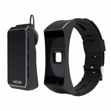 High Quality Jakcom Smart Band Smart Watch Can Be Powerful Function Bluetooth Earphone Electronics Accessories Black Color
