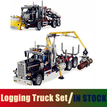 Compatible Lego Technic Series 9397 Models Building Toy Logging Truck Set 1338pcs 20059 Building Blocks Toys & Hobbies(China)