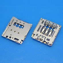 New Cell phone Sim Card Readers for Blackberry Q5 Z30 SIM connector socket 2pcs