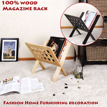 100% solid wood magazine racks, shelves, living room decoration,office furniture,floating book bookshelf,book shelf,wooden shelf(China)