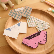 4X Creative Cute Kawaii Collar Style Elegant Bookmark Book Clip School Office Supply Student Stationery Kids Gift