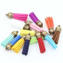 3.8cm length (15pcs/lot) Tassel For Necklace Bracelets accessories Jewelry Charms