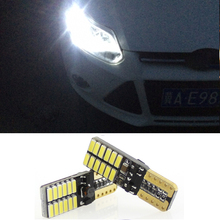 CANBUS T10 W5W 4014 SMD 24 LED Clearance Light For Ford Focus 2 3 1 Fiesta Mondeo 4 Transit Fusion Kuga Ranger Mustang Ecosport