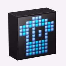 Divoom Timebox mini Portable Bluetooth smart alarm clock speaker with App compatible for IOS Android Xiaomi(China)