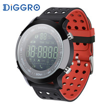 Diggro EX18 Sports Smart Watch Heart Rate 5ATM Waterproof Bluetooth Pedometer Calorie Reminder Sport Wristbands For Android iOS(China)