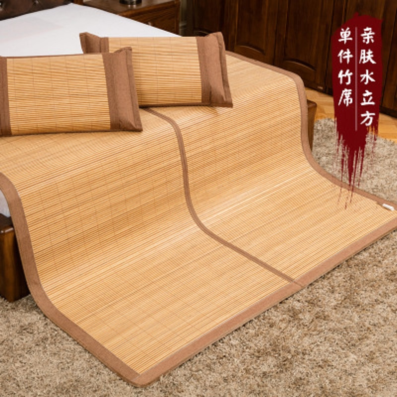High quality clearance sale 100% natural bamboo manufacturing natural comfort summer mattress gift pillowcase