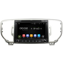 8 inch Quad Core Android 5.1 Car Radio Stereo For KIA SPORTAGE 2016 2017 Car DVD GPS Navigation Bluetooth WiFi 4G Mirror Link