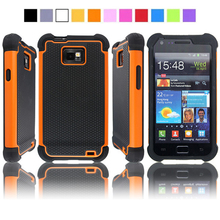 For Samsung Galaxy S2 Case Shockproof Football Skin Silicone Case Cover For Samsung Galaxy S2 Case For Galaxy S2 i9100 i9105 Bag(China)