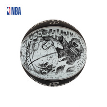Original NBA Spalding Sketch Series Outdoor 7# Rubber Basketball Official Standard Size And Weight Ball SBD0148A(China)