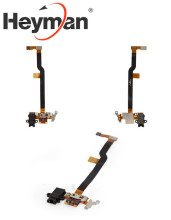 Heyman Flat Cable for Huawei Ascend D2 Cell Phone, (headphone connector, with components) Free shipping+tools(China)