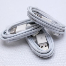 1M 2M 3M New high-quality USB Sync Data Charging Charger Cable Cord for Apple iPhone 4 4S 4G iPad 2 3 iPod nano touch Adapte