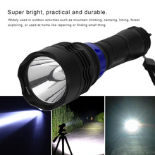 T6 Mini LED Flashlight 300LM Lamp Adjustable Zoom Focus Torch Waterproof Flashlight Lamp For Fishing Camping Riding(China)