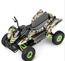 Electric RC desert motorcycle 12428 Upgrade 4WD 1/12 2.4G 50km/H High Speed Monster Truck Radio Control RC Buggy Off-Road car(China)