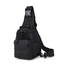 New Field Tactical Chest Sling Pack Outdoor Sport One Single Shoulder Man Big Large Ride Travel Backpack Bag Advanced Tactical