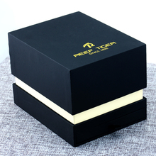 Reef Tiger Dress Men Women Rectangle Shape Original Watch Box Black Packaging Case Gift Box For Watch
