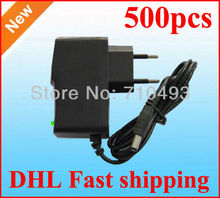 AC 100-240V to DC 5V 2A 12V 9V 7.5V 6V 5V 1A Power Adapter Supply 4.5V adaptor 500pcs/Lot EU Europe -EU plug Free shipping