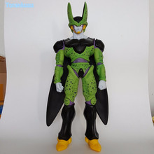 Dragon Ball Z Action Figure Cell PVC Figure Toy 480mm Anime Dragon Ball Super Perfect Cell Huge Size Collectible Model Doll DB76(China)