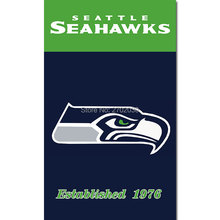 Established Seattle Custom Flag 3ft X 5ft World Series Football Team Super Champions Jerry Rice CenturyLink Field Banner Flag(China)