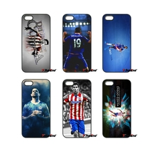 Diego Costa Atletico Madrid Art For iPod Touch iPhone 4 4S 5 5S 5C SE 6 6S 7 Plus Samung Galaxy A3 A5 J3 J5 J7 2016 2017 Case(China)