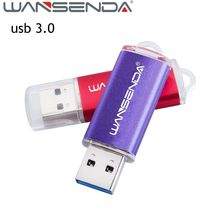 Original Brand Wansenda USB 3.0 USB Flash Drive 64GB 32GB pen drive mini USB Stick 16GB 8GB memory stick fast speed 4GB pendrive(China)
