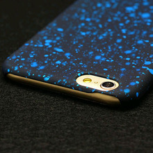 New Style 3D Cover Three-dimensional Stars case for Apple iPhone 7 7 Plus Ultra thin Frosted Starry Sky for iPhone7 Phone Case