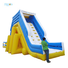 Free Sea Shipping Hot Selling Giant Chinese Commercial Inflatable Water Slide for Outdoor(China)