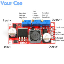 LM2596 DC-DC Step Down CC CV Power Supply Module LED Driver Battery Charger Adjustable LM2596S Constant Current Voltage