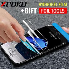 Buy XPOKO Hydrogel Membrane Film iPhone X 8 7 6 Plus Screen Protector iPhone 7 8 6s Plus Film Full Cover Hydrogel Glass for $2.65 in AliExpress store