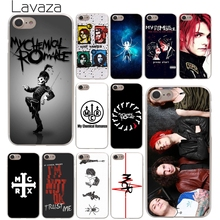 Lavaza My Chemical Romance Hard Phone Cover Case Transparent for Apple iPhone 10 X 8 7 6 6s Plus 5 5S SE 5C 4 4S Coque Shell(China)