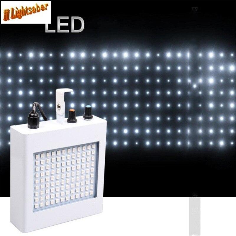 AC110-220V 54W Stage Lamp Strobe Light 108 Led 7 Colors KTV Laser Light Sound Control Music Control Flicker Stage Lighting<br>