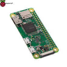Latest Raspberry Pi Zero W Wireless Pi 0 with WIFI and Bluetooth 1GHz CPU 512MB RAM Linux OS 1080P HD video output free shipping(China)