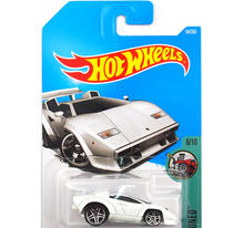 New Arrivals 2017 Hot Wheels 1:64 countach Metal Diecast Cars Collection Kids Toys Vehicle For Children Juguetes(China)