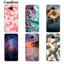 CaseRiver For Huawei Honor 5C Case, Case Cover For Honor 5 C 5C Russian Version No Fingerprint Silicone Soft Cover Phone Cases(China)