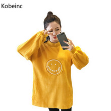 Buy Kobeinc 2017 New Clothes Pregnant Women Autumn Winter Plus Cashmere Maternity Hoodies Thick Warm Casual Pregnancy Sweatshirt for $13.94 in AliExpress store