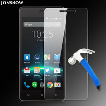 Jonsnow Tempered Glass Film for Highscreen Power Five Pro Front Explosionproof LCD Screen Protector pelicula de vidro(China)