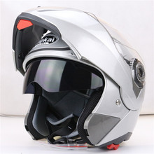 JIEKAI 105 flip up motorcycle helmet dual visor system every rider affordable bike helmet M L XL XXL available(China)