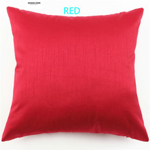 GGGGGO HOME cushion cover Christmas/home/car/sofa decorative sofa pillow cover 45CM*45cm red/white/black/blue/orange/hot pink