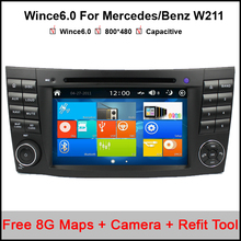 Original Car DVD Radio Player GPS For Mercedes/Benz W211 W219 W463 CLS350 CLS500 CLS55 E200 E220 E240 E270 E280(China)