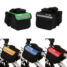 New Arrival 15* 11.5*5cm 2L Bicycle Cycling Bag Bike Top Tube Saddle Bag Bicycle Frame Pannier Bag Rack Bicycle Accessories H1E1