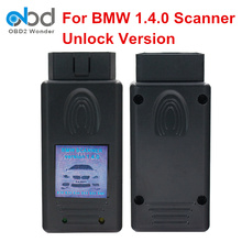 2017 New Arrival For BMW 1.4.0 Diagnostic Scanner OBD2 Code Reader For BMW 1.4 USB Diagnostic Interface Unlock Version A++ Chip