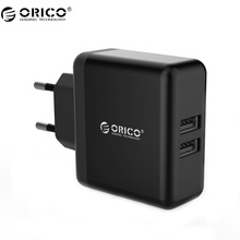Buy ORICO WHC Fast Charging Wall Charger Adapter 2 Port 5V2.4A 15W Max Portable USB Travel Charger EU Plug for $5.38 in AliExpress store